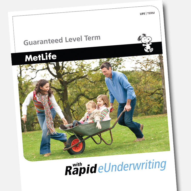 Rapid eUnderwriting marketing material